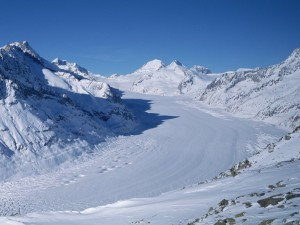 Postal: Camino de nieve