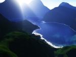 Lago azul