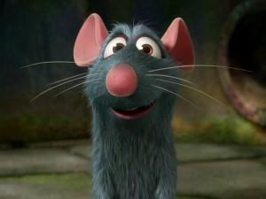 Postal: Simpático Ratatouille