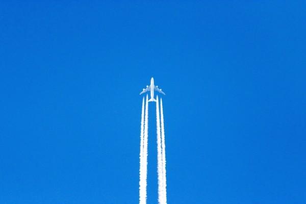 Estela de avión