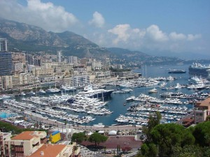 Postal: Puerto de Mónaco