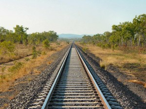 Postal: Vía del tren
