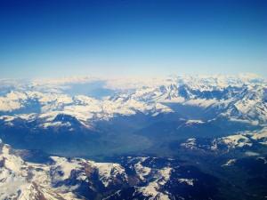 Postal: Los Alpes