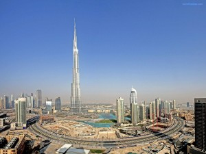 Postal: Burj Khalifa, Dubai