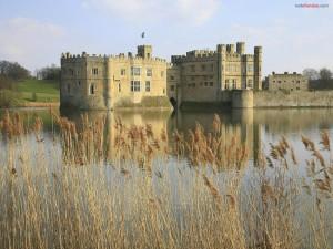 Postal: Castillo de Leeds, Kent, Reino Unido