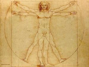 El Hombre de Vitruvio, de Leonardo da Vinci