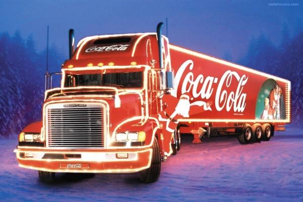 El camión de Coca-Cola