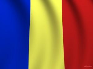 Postal: Bandera de Rumanía