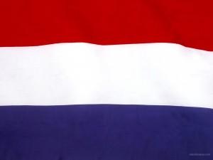 Postal: Bandera de Holanda