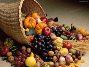 Canasta de fruta y verdura