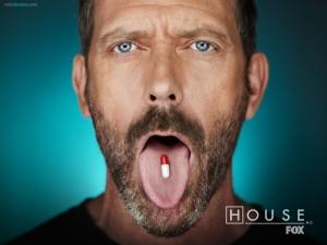 Postal: House M.D. en la Fox