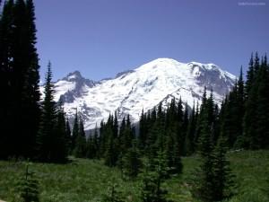Postal: Monte Rainier