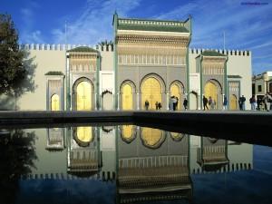 Puertas del Palacio Real, Marruecos