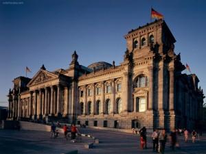 Postal: Edificio del Reichstag (Berlín)