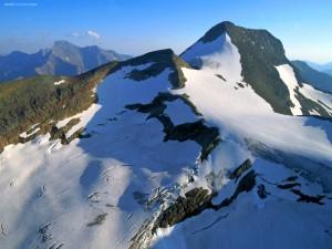 La cima de la montaña