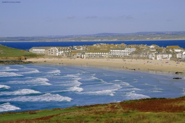 Playa Porthmeor (Cornwall, Inglaterra)