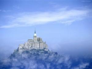 Postal: Monte Saint-Michel (Baja Normandía, Francia)