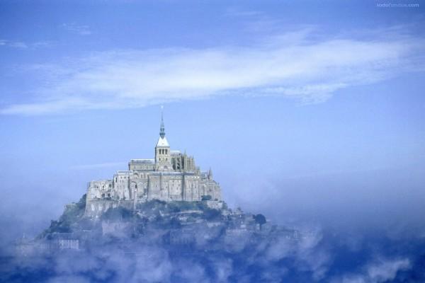 Monte Saint-Michel (Baja Normandía, Francia)