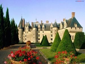 Postal: Castillo de Langeais (Francia)