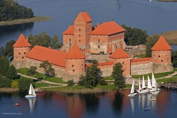 Castillo de la Península de Trakai (Lituania)