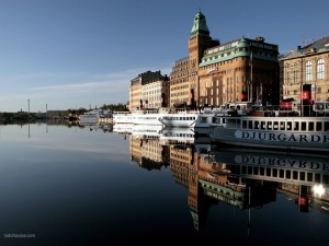 Postal: Centro de Estocolmo, Suecia