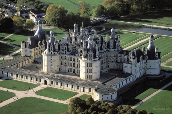 Castillo de Chambord (Francia)