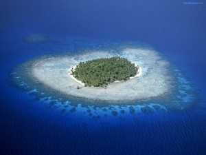 Arrecifes de coral en Micronesia