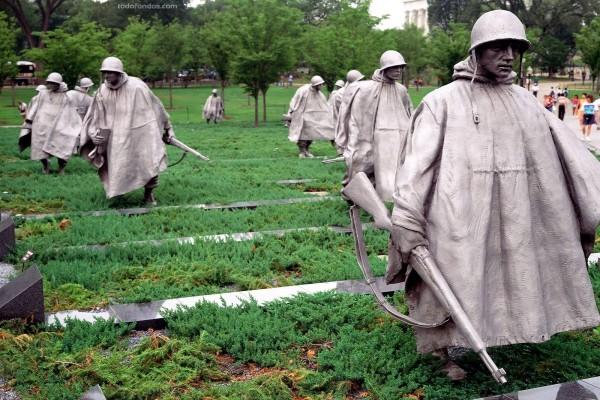Monumento Conmemorativo a los Veteranos de la Guerra de Corea (Washington DC)