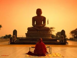 Orando en la India
