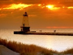 Ludington Light, un faro en Michigan