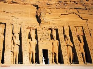 Templo de Nefertari en Abu Simbel (Egipto)