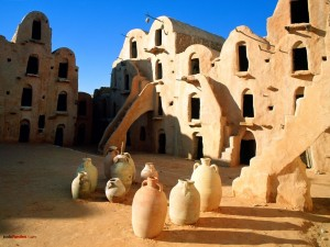 Postal: Ksar Ouled Soltane (Túnez)