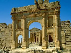 Ruinas Romanas de Sbeitla (Túnez)