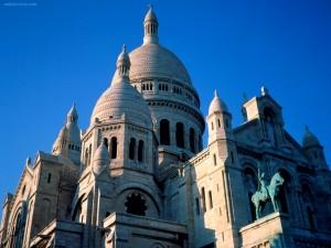 Postal: Basílica del Sacré Coeur (París)