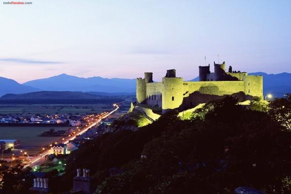 Castillo de Harlech (Gales, Reino Unido)