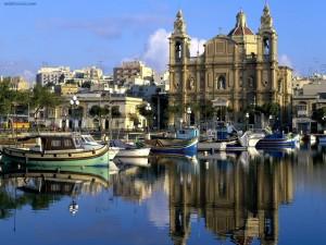 Postal: Puerto de Msida (Malta)