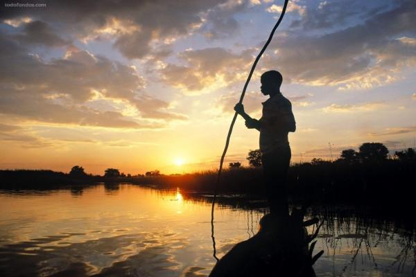 Delta del Okavango (Botsuana)