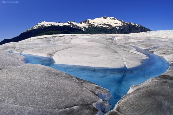 Glaciar Mendenhall (Juneau, Alaska)