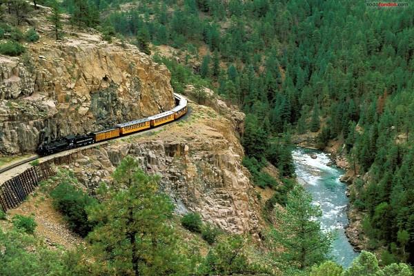 Ferrocarril de vía estrecha entre Durango y Silverton