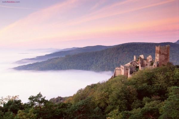 Castillo de Saint-Ulrich (Francia)