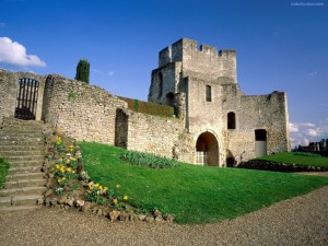 Postal: Castillo de Gisors (Francia)