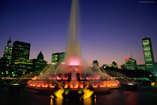 Fuente de Buckingham (Chicago)