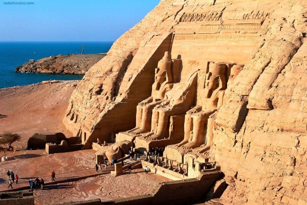 Templo de Abu Simbel (Egipto)