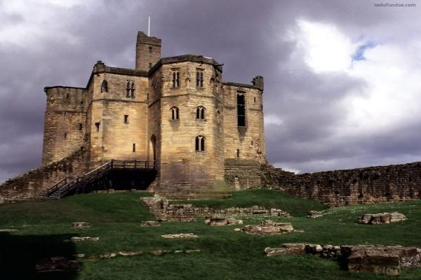 Castillo de Warkworth (Northumberland, Inglaterra)