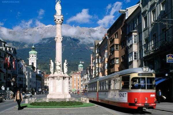 Calle de Maria Theresa (Innsbruck, Austria)