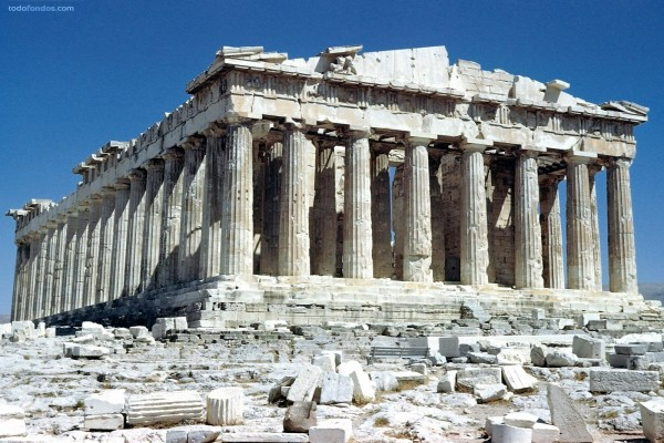 Partenón (Acrópolis de Atenas, Grecia)