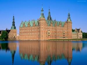 Postal: Castillo de Frederiksborg (Dinamarca)