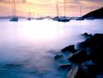 Puerto de aguas tranquilas