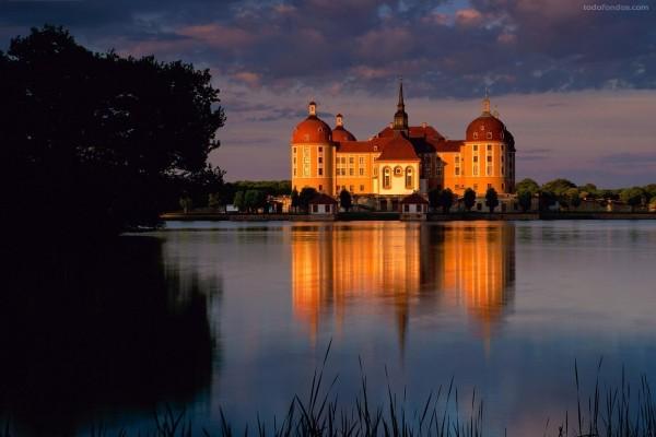 Castillo de Moritzburg (Sajonia, Alemania)