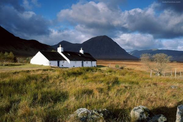Casita en Rannoch Moor (Escocia)